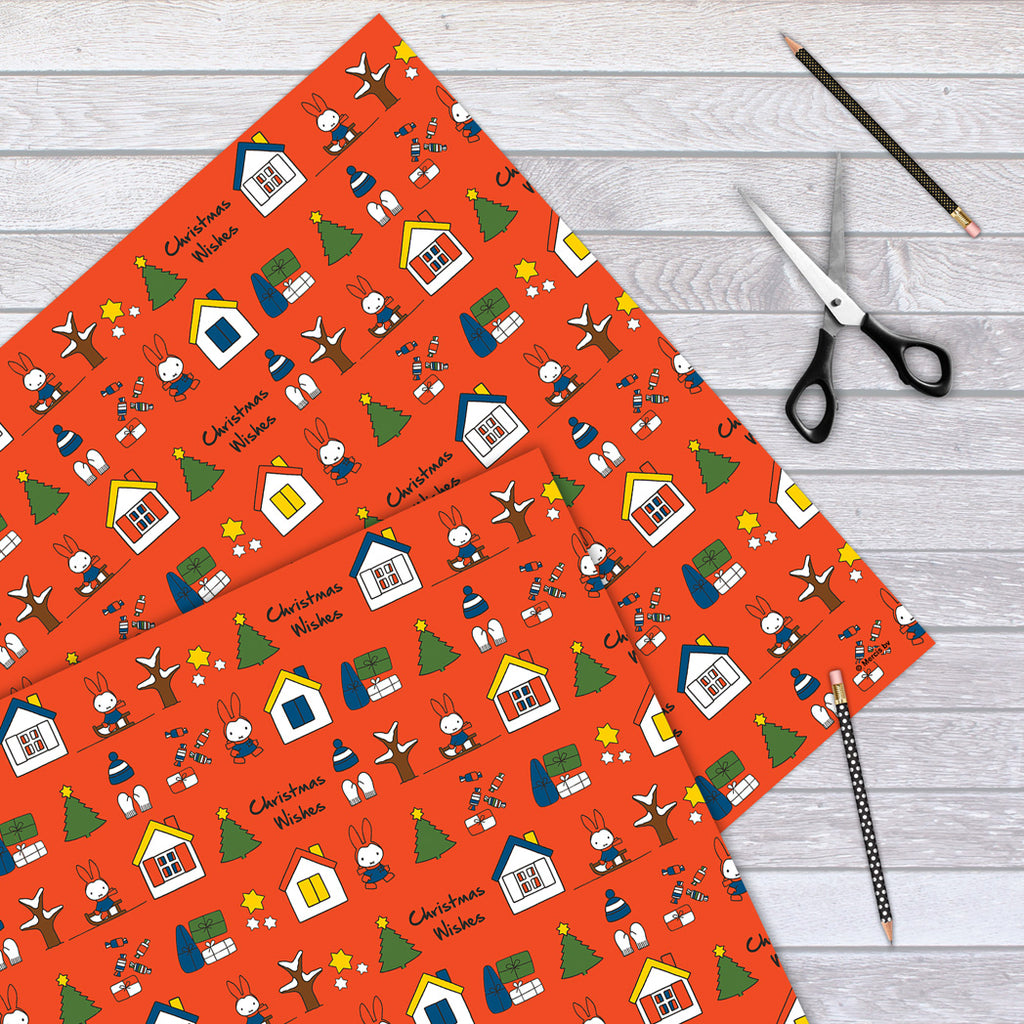 Miffy Christmas Wishes Gift Wrap
