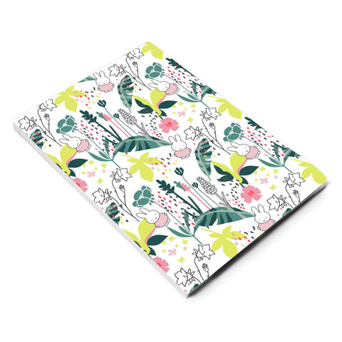 miffy floral expression pattern a5 notepad