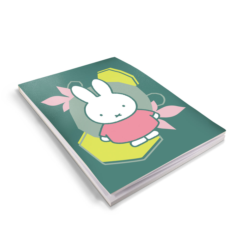 miffy floral expression pink dress a6 notepad