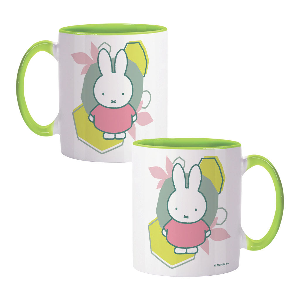miffy floral expression pink dress colour insert mug