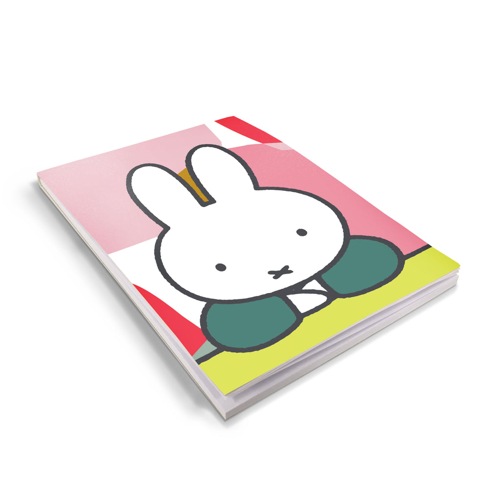 miffy floral expression pose a6 notepad