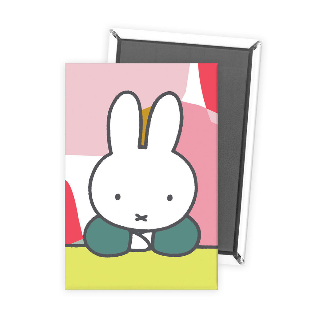 miffy floral expression pose magnet