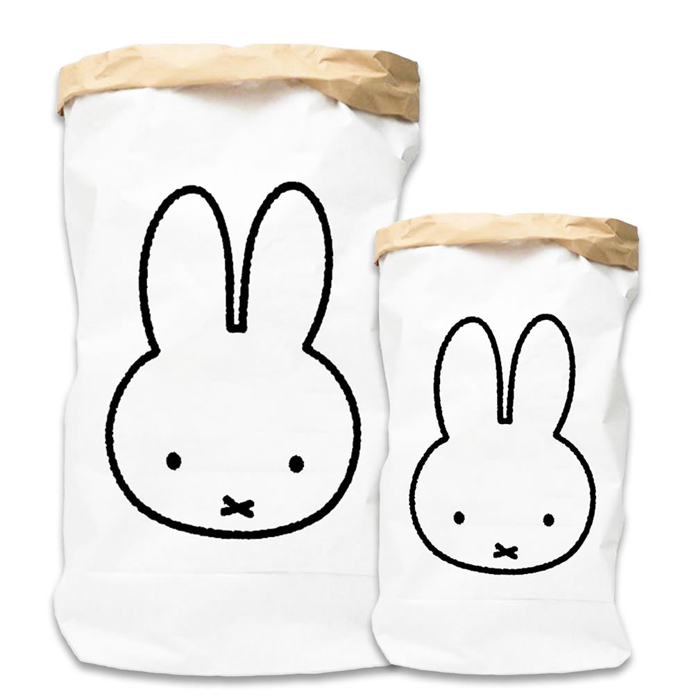 Miffy Paper bag outline