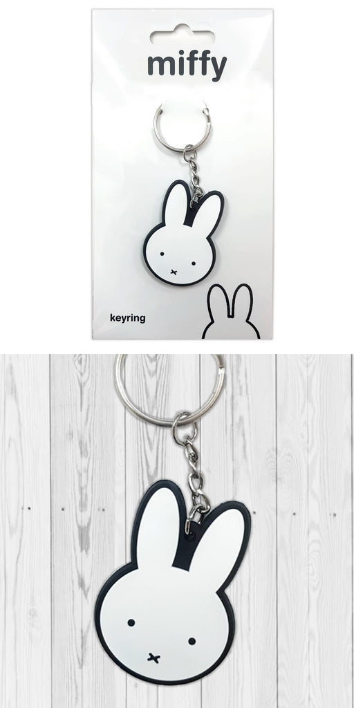 Miffy Rubber Keyring / Bag Charm Rubber Keyring