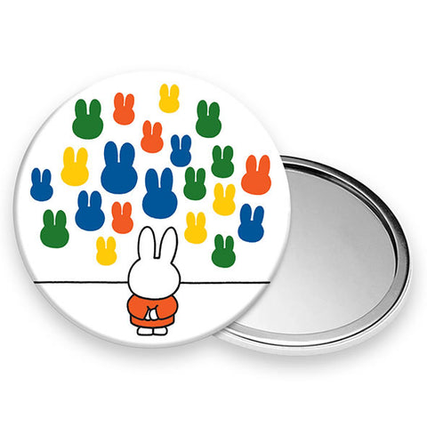 Miffy At The Gallery Hand Bag Mirror Miffy At The Gallery Hand Bag Mirror