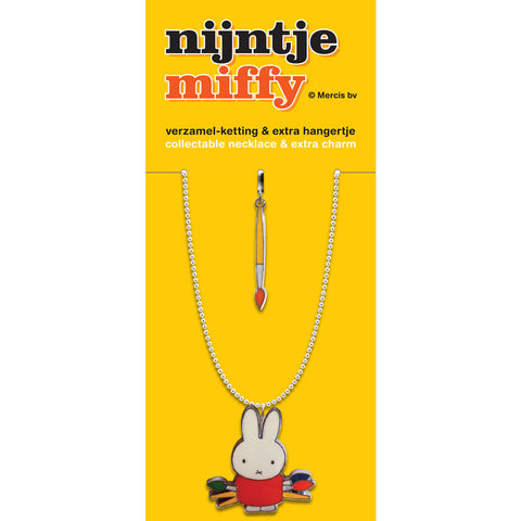 Miffy the Artist Necklace Set