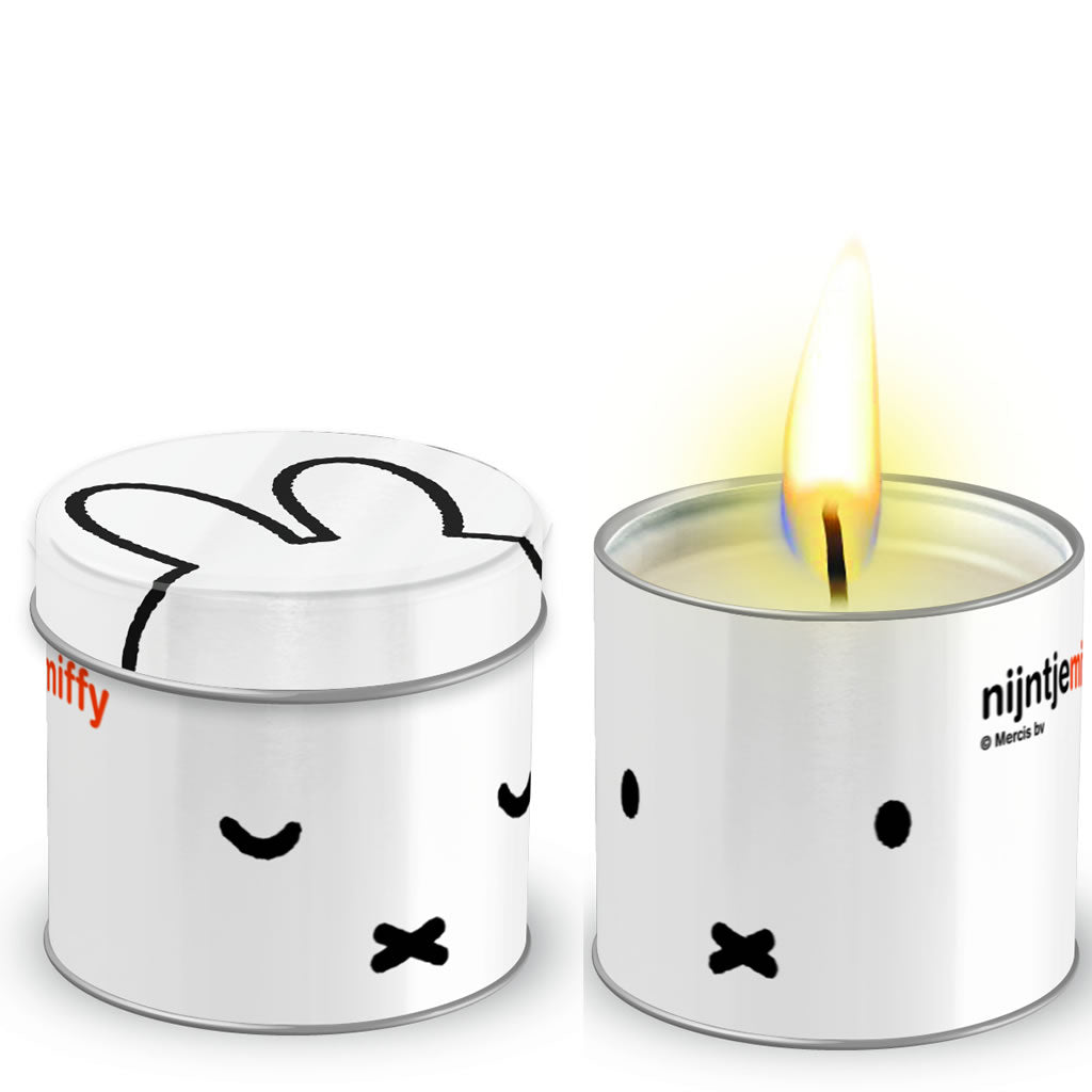 Miffy Tea Light Candle in a Tin Miffy Tea Light Candle in a Tin