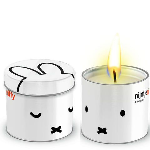 Miffy Tea Light Candle in a Tin
