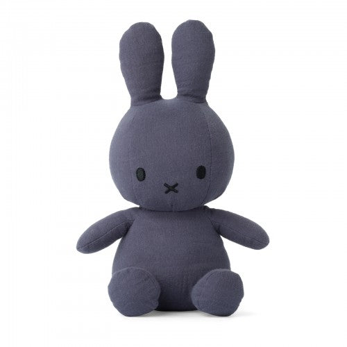 Miffy  Mousseline Faded Blue Plush