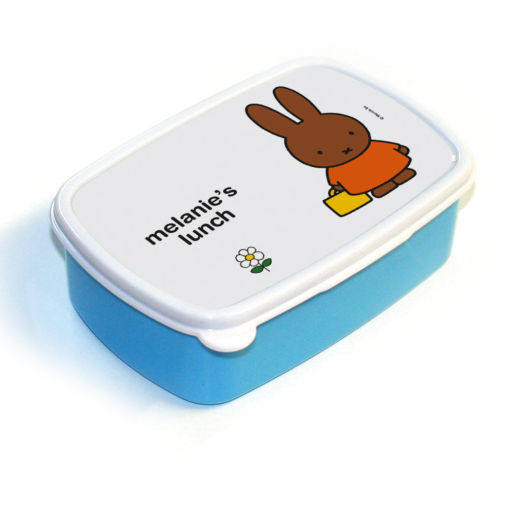 Cute Melanie's Lunch Personalised Lunch Box