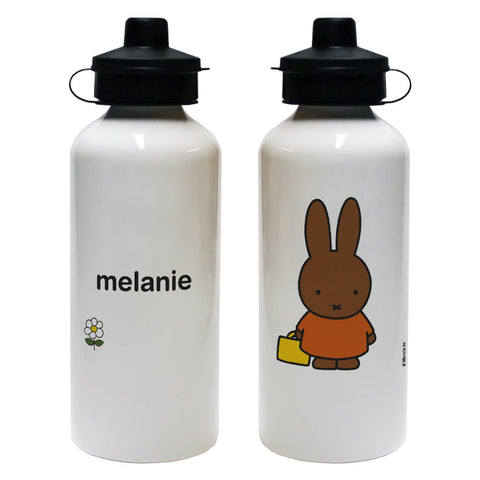 Cute Melanie Personalised Water Bottle