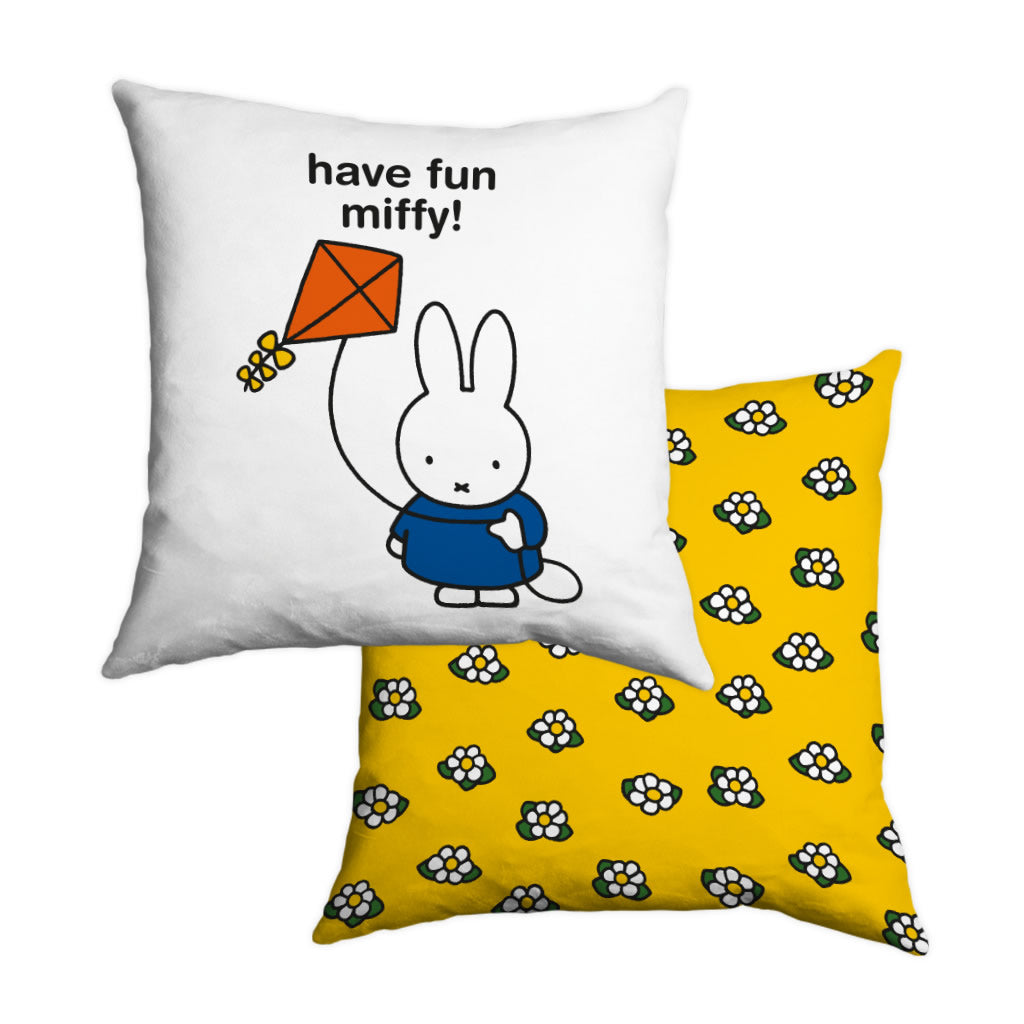 have fun miffy! Personalised Cushion