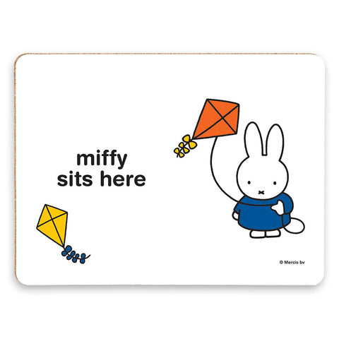 miffy sits here Personalised Placemat
