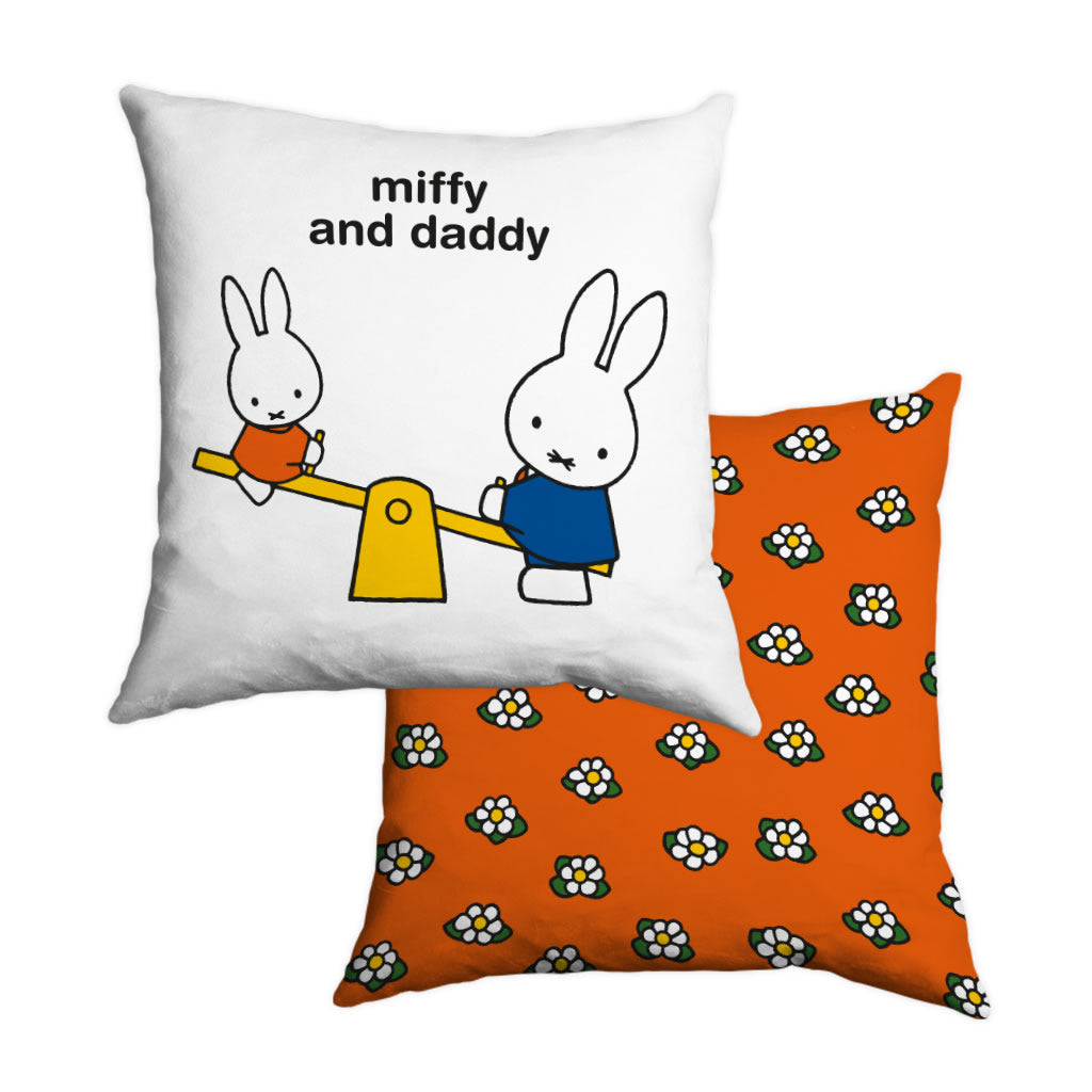 miffy and daddy Personalised Cushion