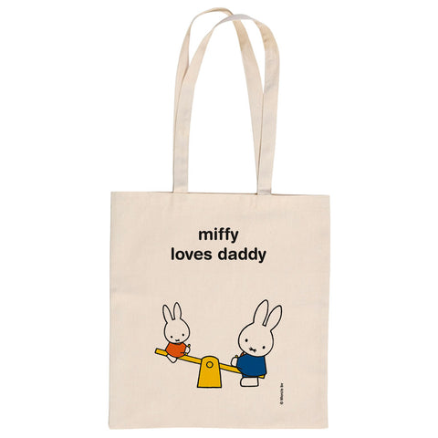 miffy loves daddy Personalised Tote Bag