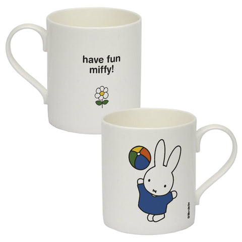 have fun miffy Personalised Bone China Mug