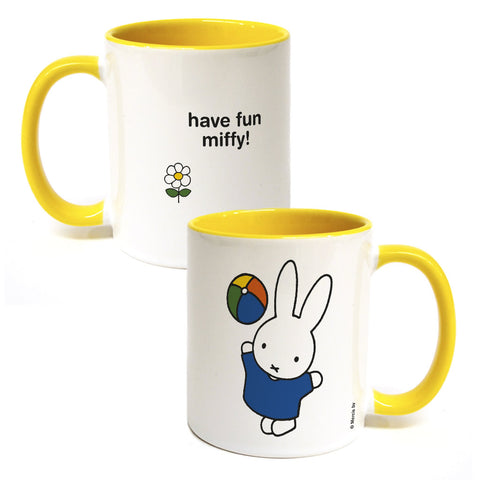 have fun miffy! Personalised Coloured Insert Mug