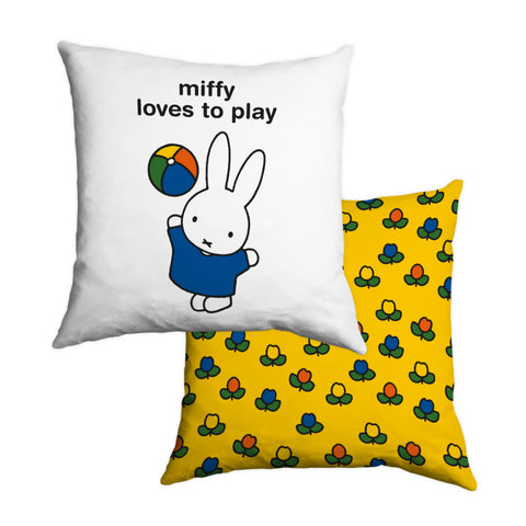 miffy loves to play Personalised Cushion