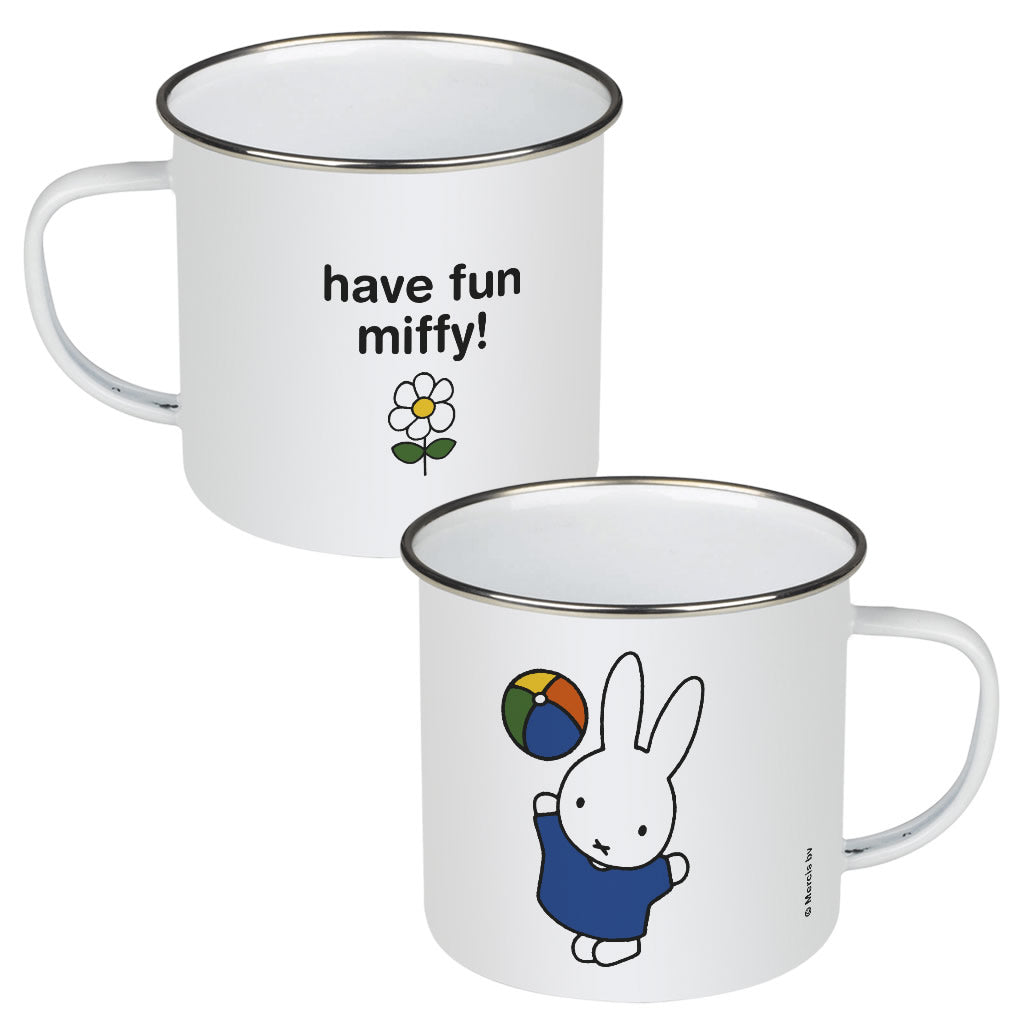 have fun miffy! Personalised Enamel Mug