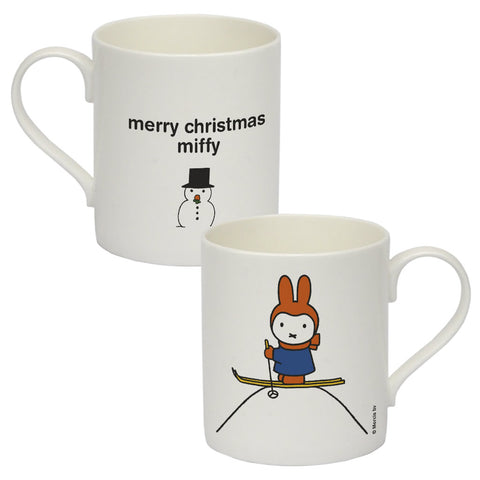 mery christmas miffy Personalised Bone China Mug