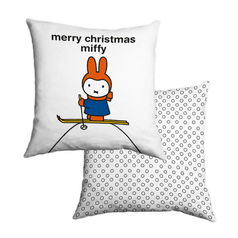 merry christmas miffy Personalised Cushion