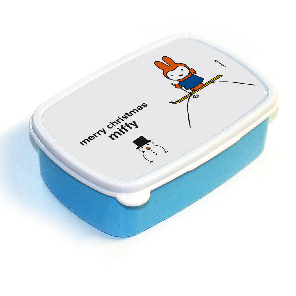 merry christmas miffy Personalised Lunchbox