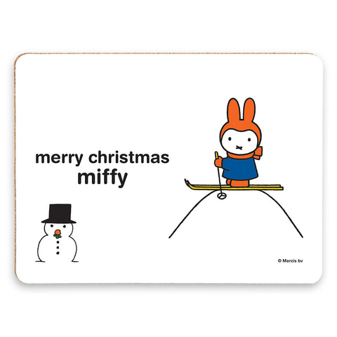 merry christmas miffy Personalised Placemat