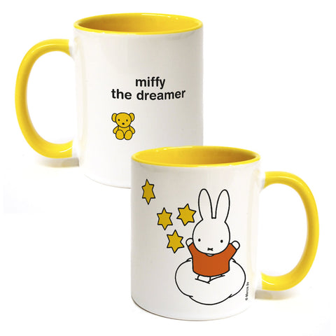 miffy the dreamer Personalised Coloured Insert Mug