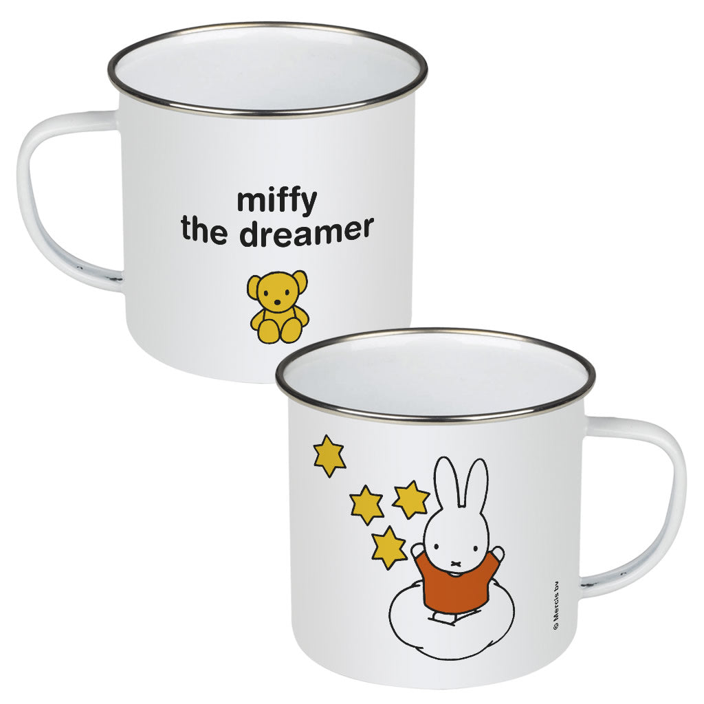 miffy the dreamer Personalised Enamel Mug