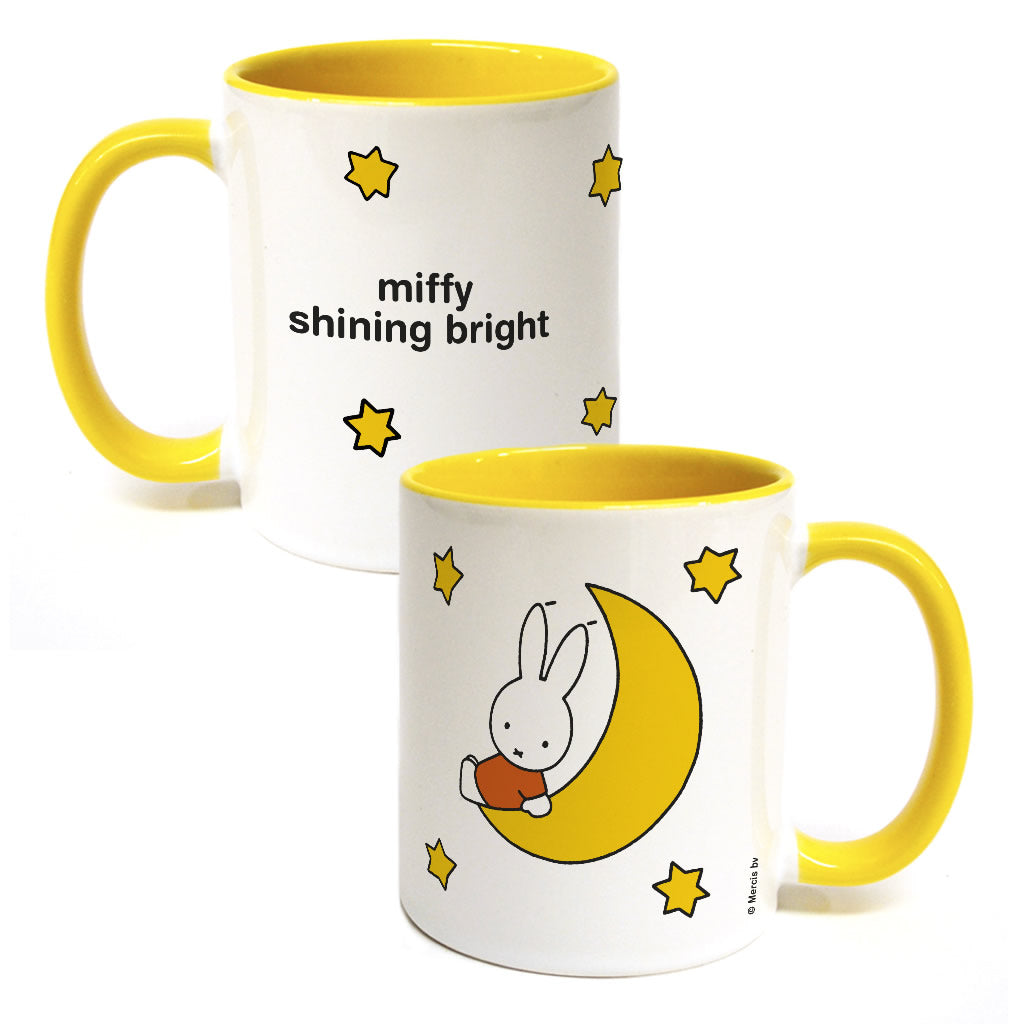 miffy shining bright Personalised Coloured Insert Mug