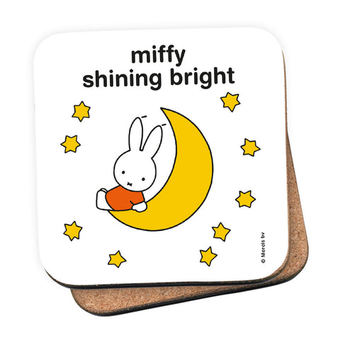 miffy shining bright Personalised Coaster