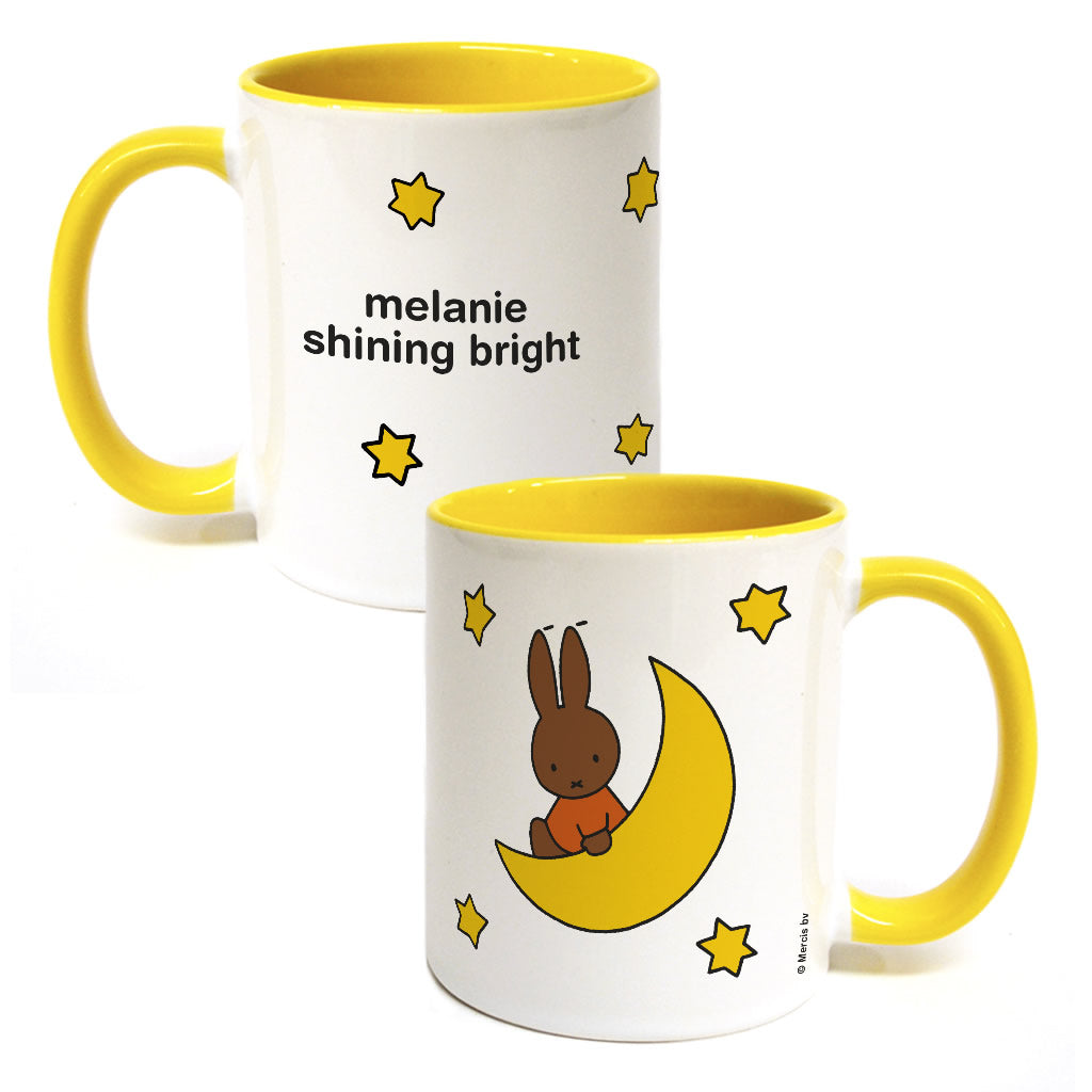 melanie shining bright Personalised Coloured Insert Mug