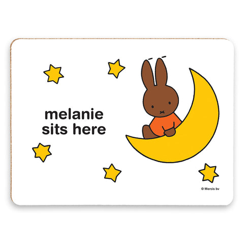 melanie sits here Personalised Placemat