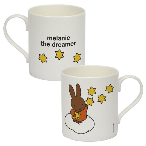 melanie the dreamer Personalised Bone China Mug