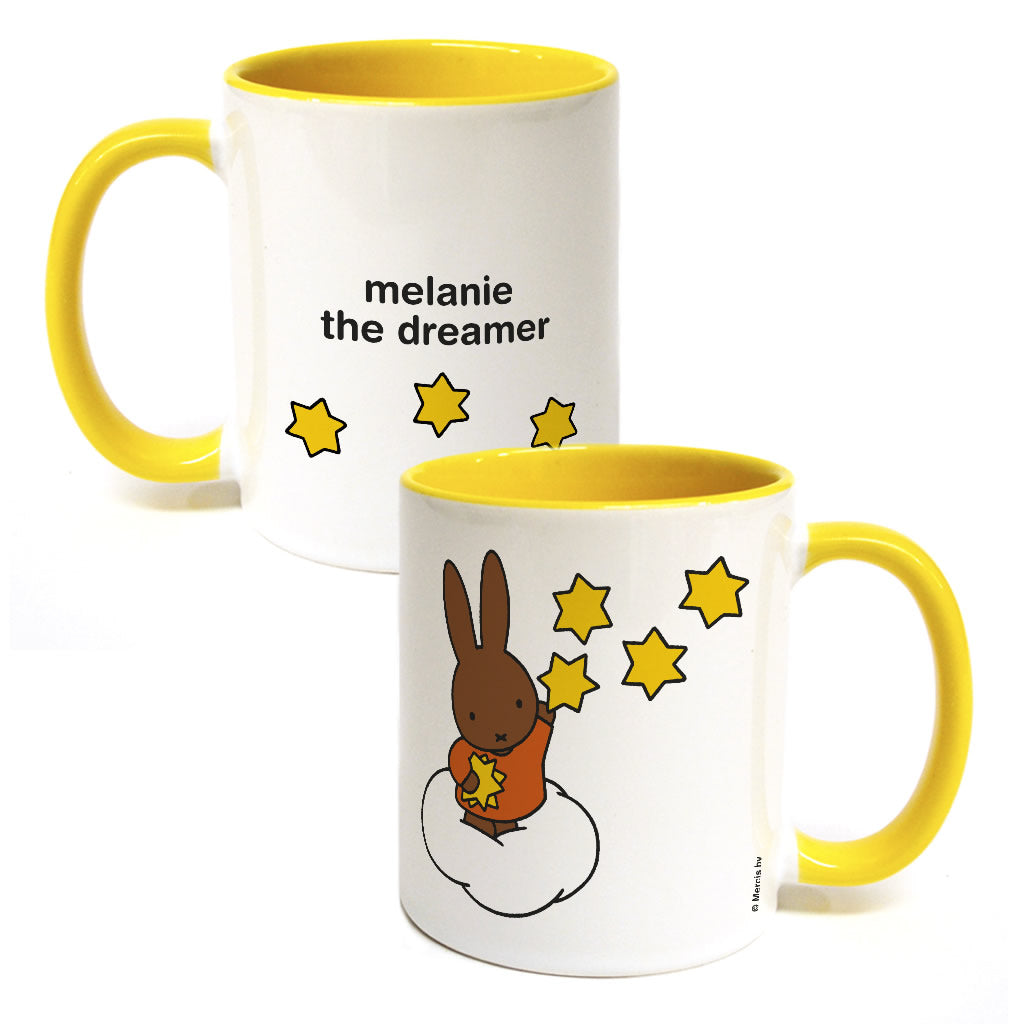 melanie the dreamer Personalised Coloured Insert Mug