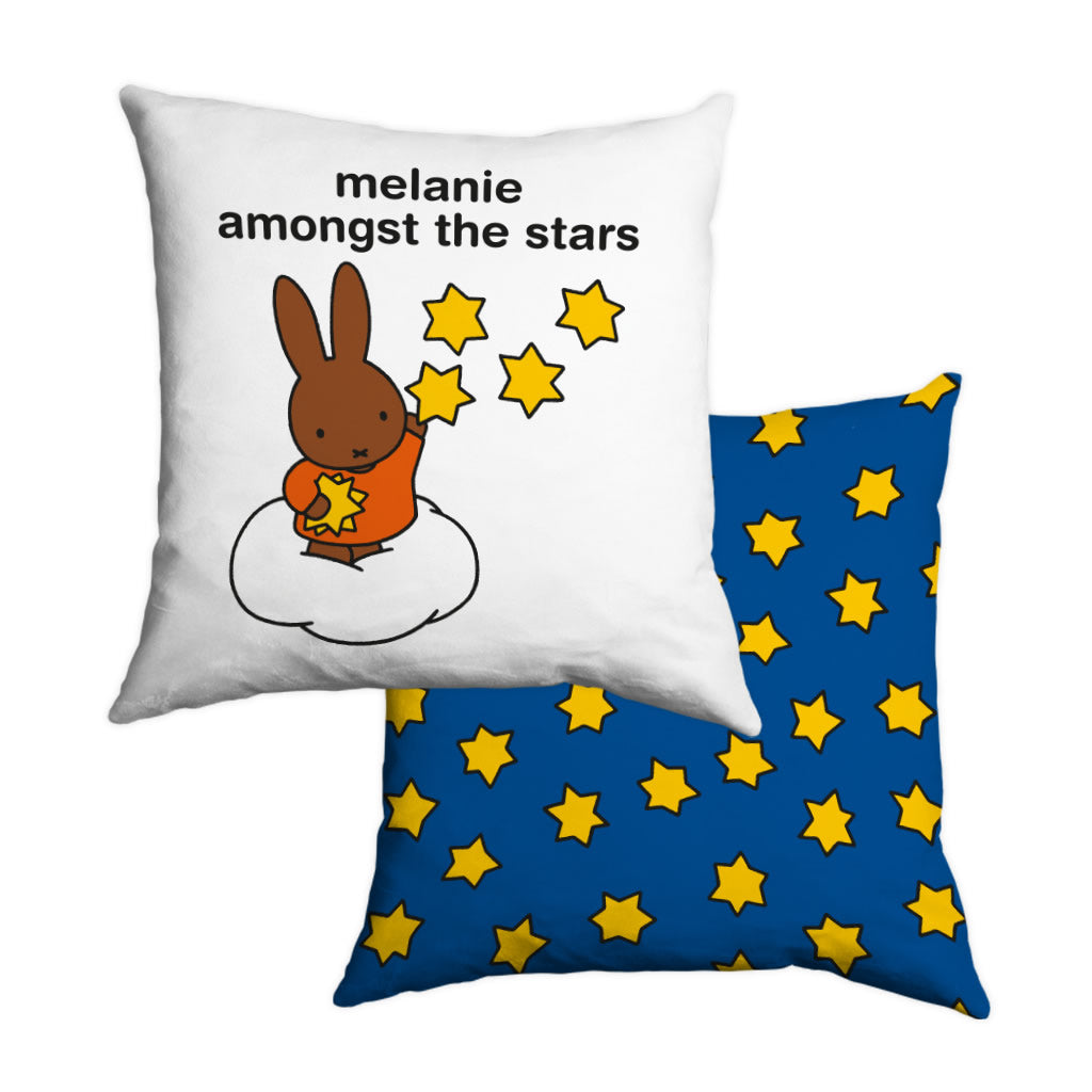 melanie amongst the stars Personalised Cushion