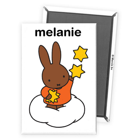 Starry Miffy Personalised Magnet