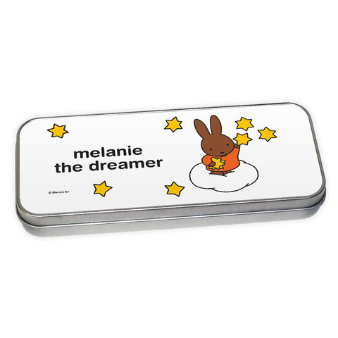 melanie the dreamer Personalised Pencil Tin