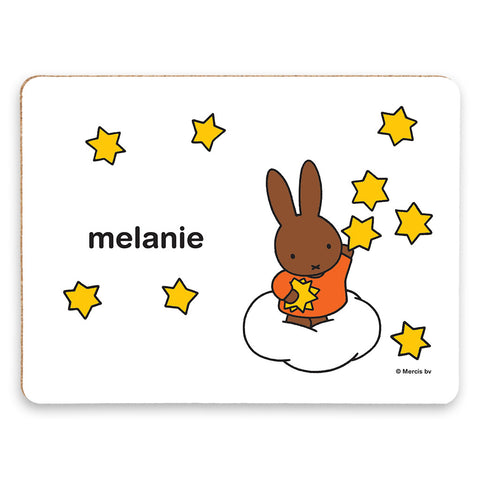 Starry Melanie Personalised Placemat