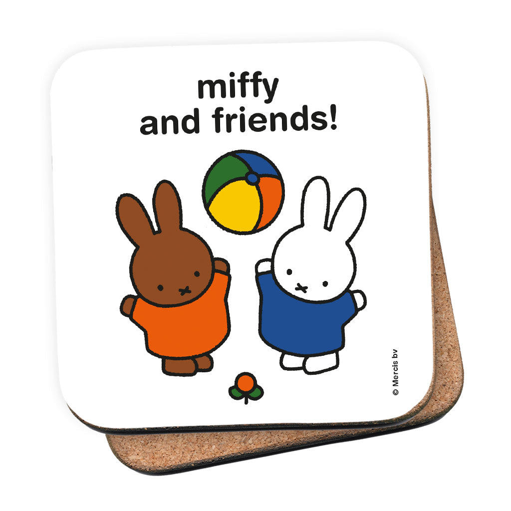 miffy and friends! Personalised Coaster