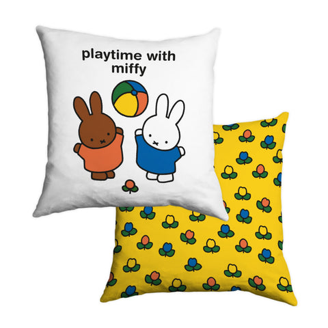 playtime with miffy Personalised Cushion