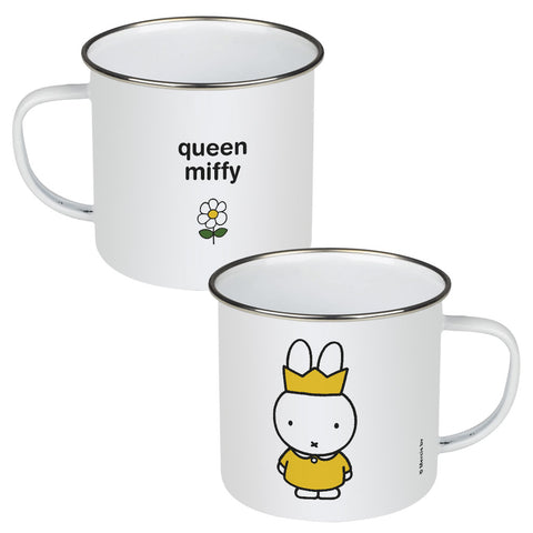 queen miffy Personalised Enamel Mug