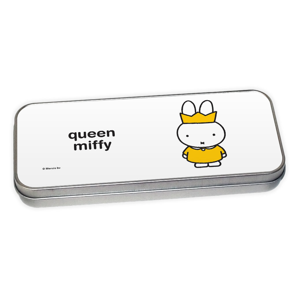 queen miffy Personalised Pencil Tin