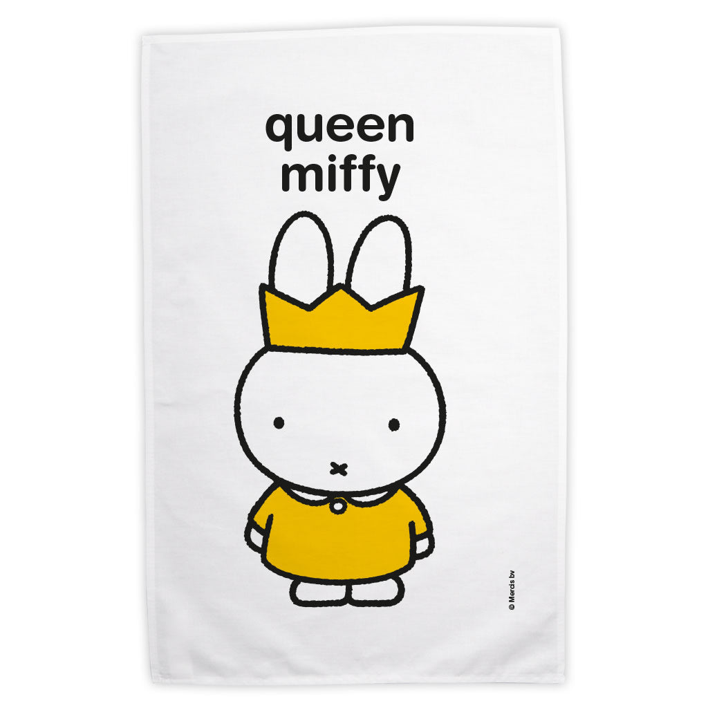queen miffy Personalised Tea Towel