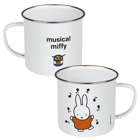musical miffy Personalised Enamel Mug