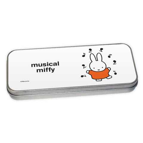 musical miffy Personalised Pencil Tin