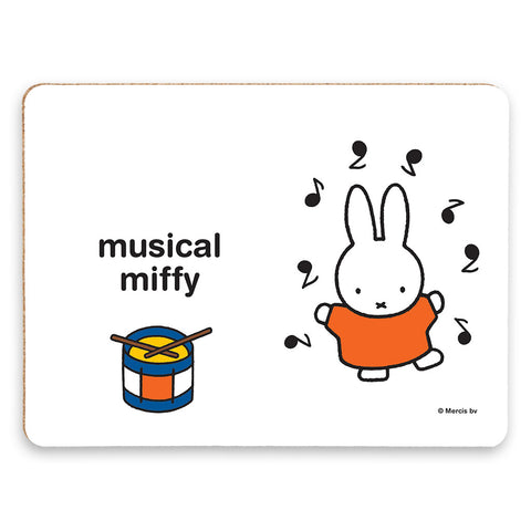 musical miffy Personalised Placemat
