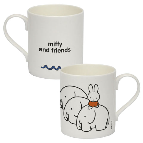 Miffy & Friends Elephants Personalised Bone China Mug