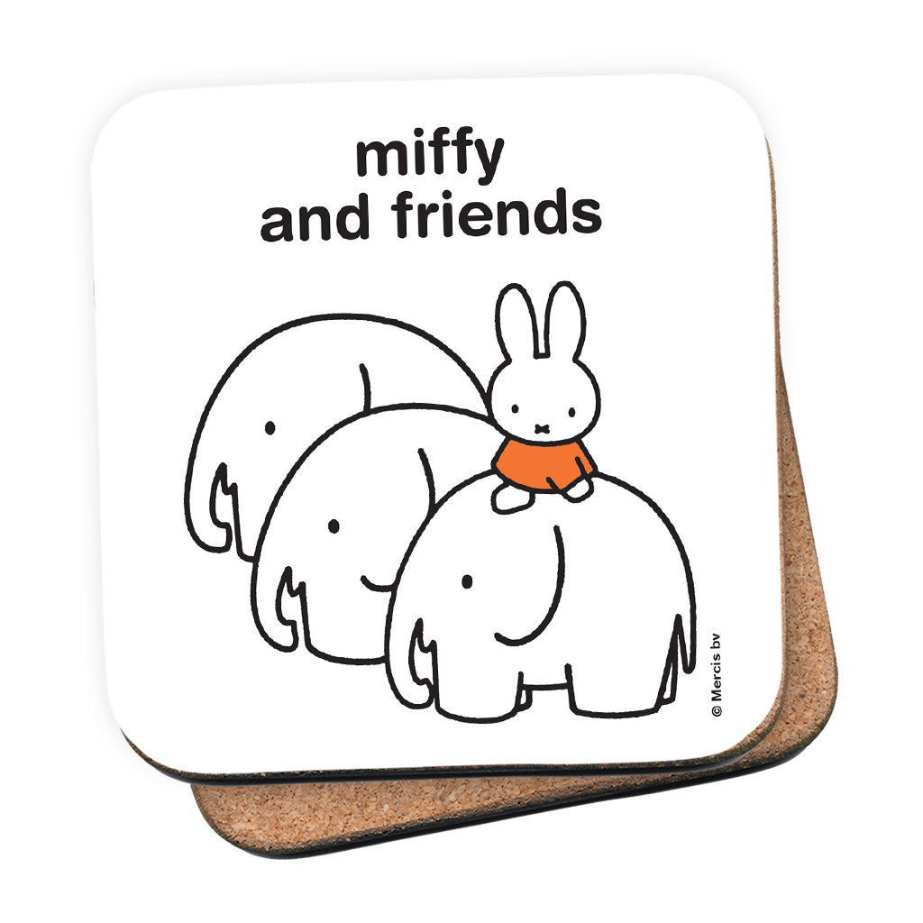 miffy and friends Personalised Coaster