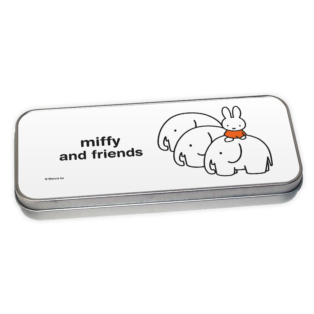 miffy and friends Personalised Pencil Tin